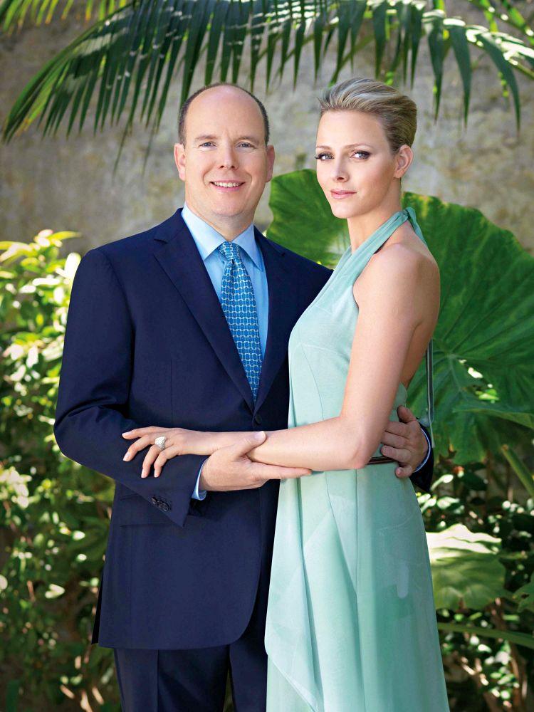 charlene wittstock royal wedding. both the Royal wedding in