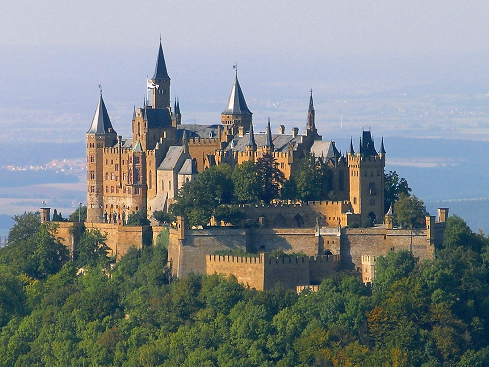 a documentary about burg hohenzollern a modest home in germany the royal correspondent. Black Bedroom Furniture Sets. Home Design Ideas