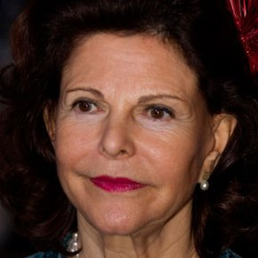 Her Majesty Queen Silvia of Sweden Visits the National Museum in Stockholm.