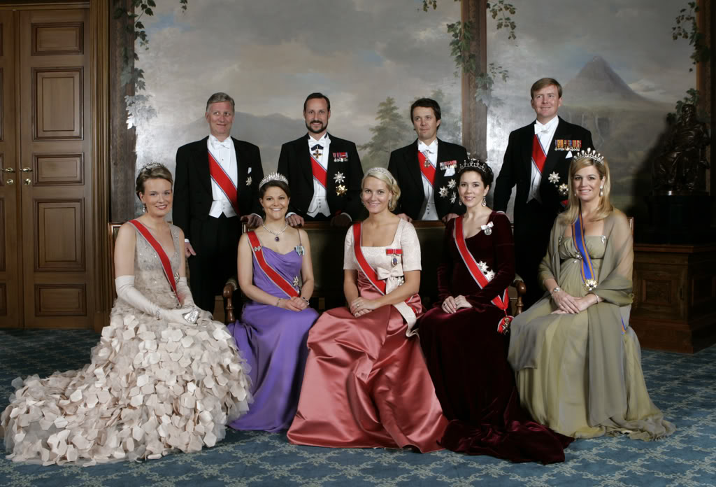 how many royal families are there in europe