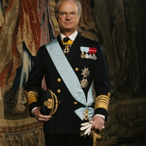 His Majesty King Carl XVI Gustaf Presides Over the 2013 Swedish Export Prize.
