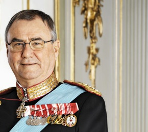 His Royal Highness Prince Henrik of Denmark Opens an Exhibition in Copenhagen.
