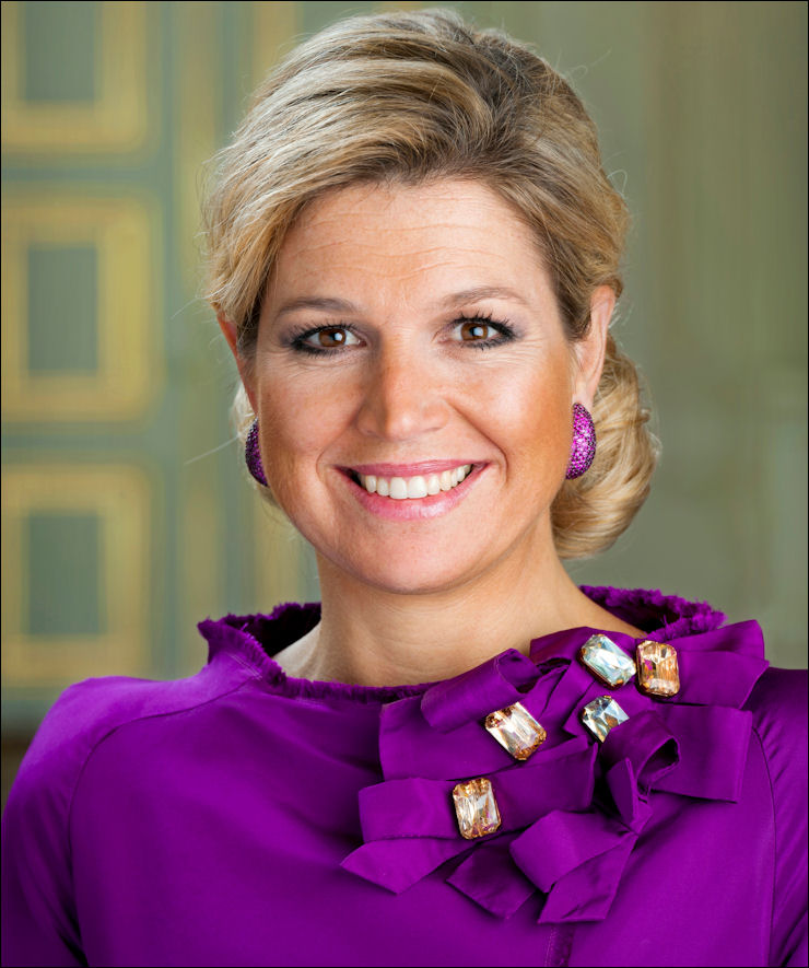 "Her Royal Highness <b>Princess Maxima</b> of the Netherlands Receives a Report ""A <b>...</b> - princess-maxima-2012"
