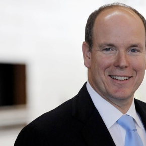 His Serene Highness Prince Albert II of Monaco Attends An Inauguration. (VIDEO)