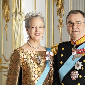 Her Majesty Queen Margrthe II and HRH Prince Henrik of Denmark Attend a Concert.