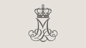 Queen Margrethe II monogram