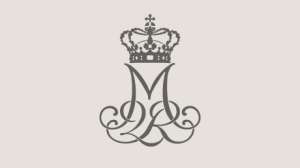 Queen Margrethe II monogram