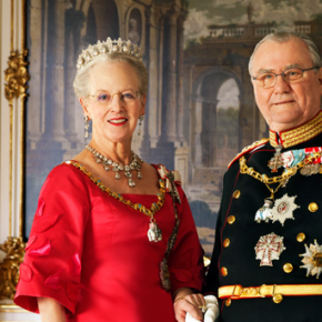 Her Majesty Queen Margrethe II and His Royal Highness Prince Henrik of Denmark Discuss Art. (VIDEO)