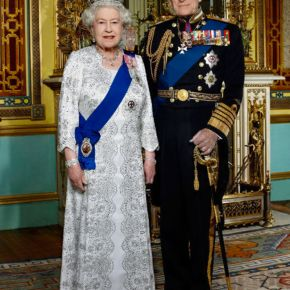 Her Majesty Queen Elizabeth II and His Royal Highness The Duke of Edinburgh Host a Reception.