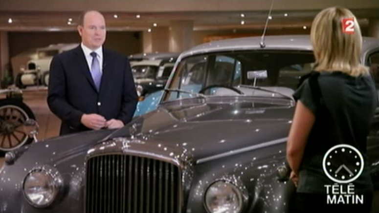 Auction Cars For Sale >> His Serene Highness Prince Albert II of Monaco Interviewed on Télématin (VIDEO) – The Royal ...