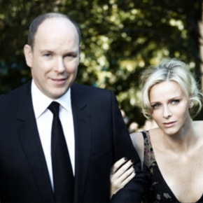 Their Serene Highnesses Prince Albert II and Princess Charlene of Monaco Visit the Croix-Rouge Headquarters in Monaco. Plus, Other News. (VIDEO)