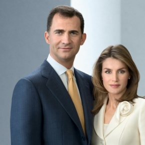 Their Royal Highnesses Prince Felipe and Princess Letizia of Asturias in Carmel, California. (VIDEO)