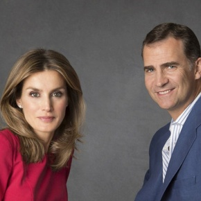 T.R.H.s Prince Felipe and Princess Letizia of Asturias in Bueño. (VIDEOS)