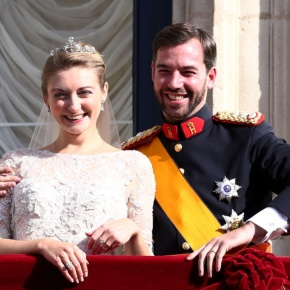 Guillaume and Stéphanie: The Royal Wedding.(VIDEOS)