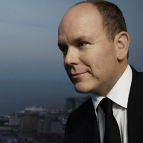 His Serene Highness Prince Albert II of Monaco in Paris.