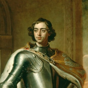 """The Journey of Peter the Great to Versailles"""
