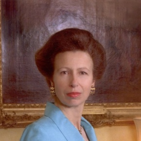 Her Royal Highness The Princess Royal in Bristol.