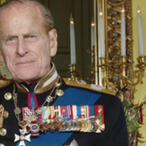 His Royal Highness The Duke of Edinburgh Presents Medals.