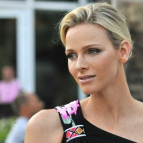 Her Serene Highness Princess Charlene of Monaco Attends the Races In South Africa.