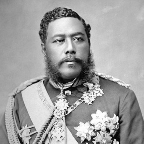Celebrating the late His Majesty King Kalākaua of Hawai'i's Birthday at 'Iolani Palace. (VIDEO)