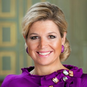 Her Majesty Queen Maxima of the Netherlands Attends a Conference in Utrecht.