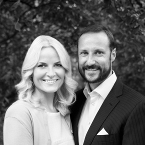 Their Royal Highnesses Crown Prince Haakon and Crown Princess Mette-Marit of Norway Participate in the 2014 Strandryddedagen.