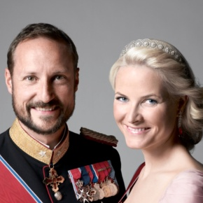 Their Royal Highnesses Crown Prince Haakon and Crown Princess Mette-Marit of Norway Attend the 2013 Ridderrennet.