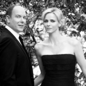 Their Serene Highnesses Prince Albert II and Princess Charlene of Monaco Visit the Croix-Rouge Monégasque Headquarters.