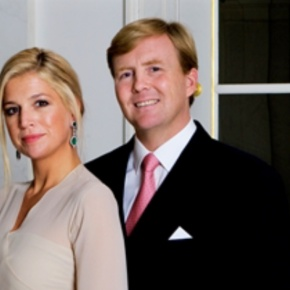 TRHs Prince Willem-Alexander of Oranje and Princess Maxima of the Netherlands Attend a Dress Rehearsal for Tomorrow's Historic Event. (VIDEO)
