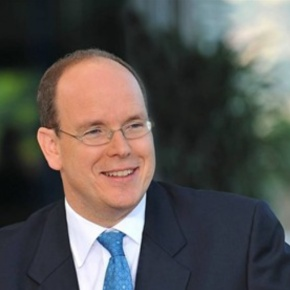 His Serene Highness Prince Albert II of Monaco Attends an Award Ceremony. (VIDEO)