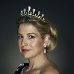 HM Queen Maxima of the Netherlands Attends an Inaugural Lecture.