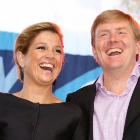 TRHs Prince Willem-Alexander of Oranje and Princess Maxima of the Netherlands Launch the Koningsspelen. (VIDEOS)
