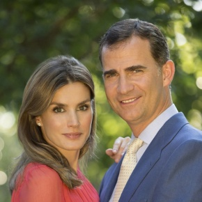TRHs Prince Felipe and Princess Letizia of Asturias Attend the Inauguration of the Palmetum de Santa Cruz de Tenerife.