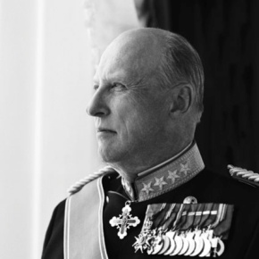 His Majesty King Harald V of Norway Attends the 2013 Gardens Kirkeparade.