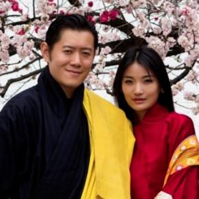 Their Majesties King Jigme Khesar Namgyel Wangchuck and Queen Jetsun of Bhutan Hold anAudience.