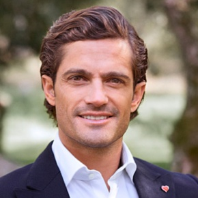 His Royal Highness Prince Carl Philip of Sweden Presents Scholarships.