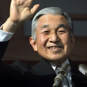 His Imperial Majesty Emperor Akihito of Japan Opens the Ordinary DIET Session in Tokyo.