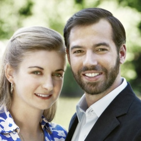 TRHs Hereditary Grand Duke Guillaume and Hereditary Grand Duchess Stéphanie of Luxembourg Visit Vianden.