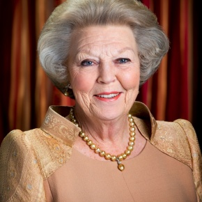 The Rijksmuseum in Amsterdam Opens a New Exhibit in Honor of Her Majesty Queen Beatrix of the Netherlands.