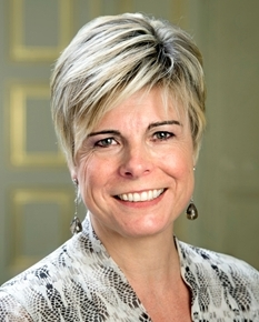 Her Royal Highness Princess Laurentien of the Netherlands Visits a School in Den Haag.