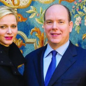 TSHs Prince Albert II and Princess Charlene of Monaco Welcome the United Nations Secretary-General to Monaco. (VIDEOS)