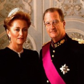 TMs King Albert II and Queen Paola of Belgium Host a New Year Reception.