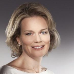 Her Royal Highness Princess Mathilde of Belgium Attends a Conference in Brussels.  Plus, Other News.