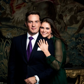 The Swedish Royal Court Releases New Details About the Upcoming Wedding Between HRH Princess Madeline of Sweden and Mr. ChristopherO'Neill.