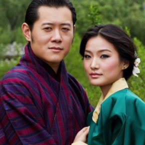 TMs King Jigme Khesar Namgyel Wangchuck and Queen Jetsun of Bhutan Preside Over a Special Ceremony.