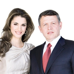 Their Majesties King Abdullah II and Queen Rania of Jordan Welcome the President of France to Amman. (VIDEOS)
