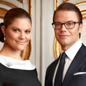 TRHs Crown Princess Victoria and Prince Daniel of Sweden Attend a Concert.