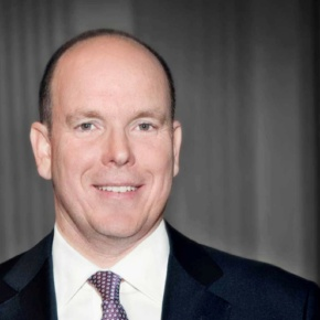 His Serene Highness Prince Albert II of Monaco Attends a Ceremony.(VIDEO)