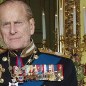 HRH The Duke of Edinburgh Attends a RugbyMatch.