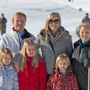 Members of the Dutch Royal Family in Lech, Austria.(VIDEOS)
